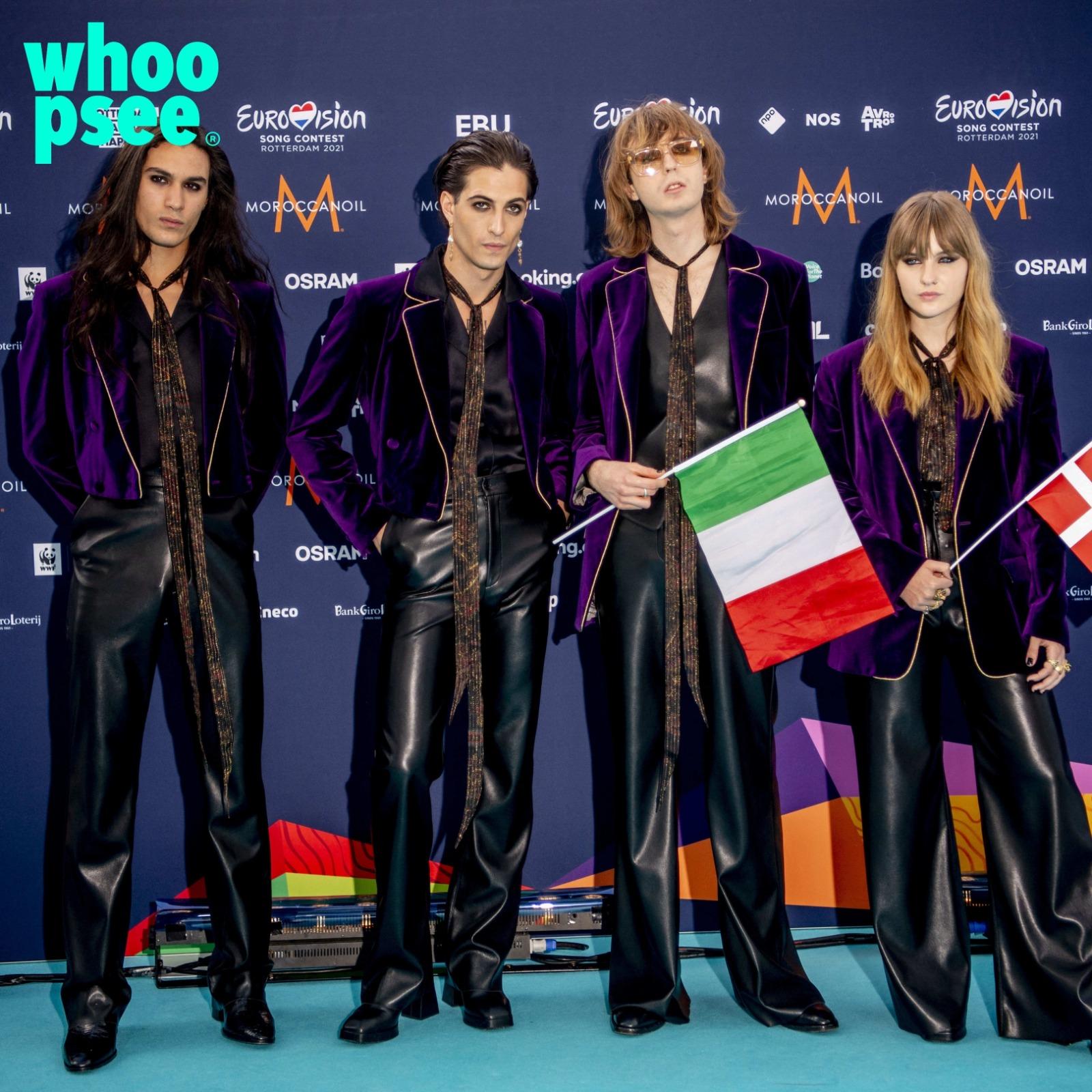 Maneskin Vittoria Eurovision